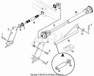 Gravely 40252 Front Drive 4 Wheel Tractor Parts Diagram
