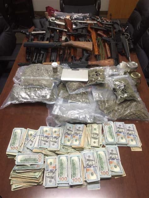 baton rouge drug bust results   arrests weapons cash