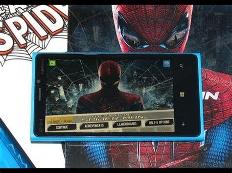 Amazing Spiderman  Windows Phone 8 Review Youtube