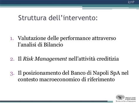 Sanpaolo Banco Di Napoli Spa Ipe Project Work Mib 2013 Valutazione Dell Andamento