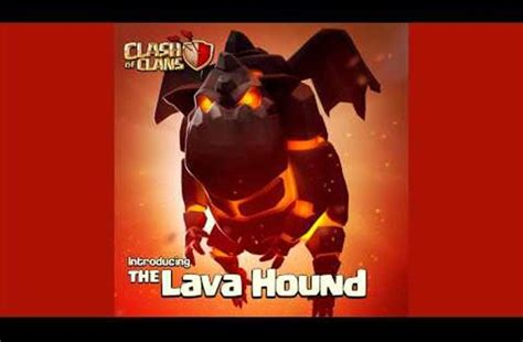 clash  clans release notes  lava hound update