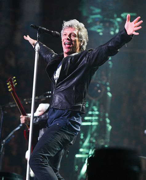 Jon Bon Jovi Reacts Rock Roll Hall Fame