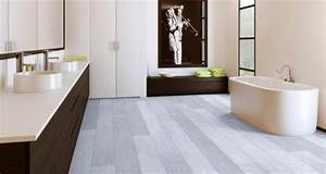 Parquet Stratifié Salle De Bain : le parquet stratifi dans la salle de bains est une ~ Melissatoandfro.com Idées de Décoration