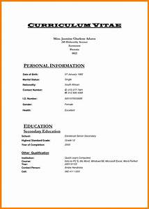 new professional cv south africa livoniatowingco With south african cv template download