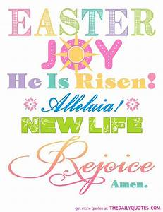 Happy Easter Qu... Easter Beach Quotes