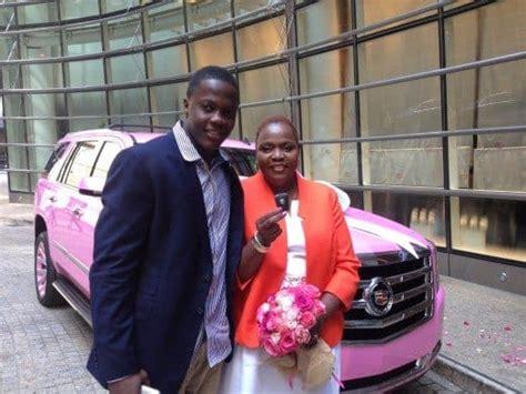 teddy bridgewater gifts  mom  pink cadillac alpha mom