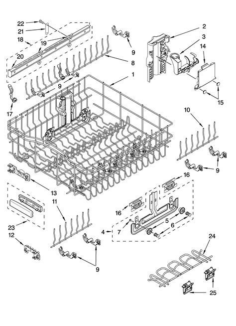 Kitchenaid Dishwasher Parts by Kenmore Dishwasher Top Rack Parts Racks Ideas