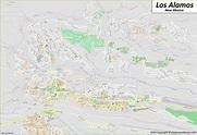 Los Alamos Map   New Mexico, U.S.   Maps of Los Alamos