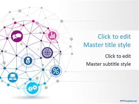 global network  template