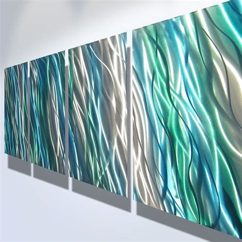 Explore the possibilities and find the option that best suits your home. Metal Wall Art Decor Abstract Contemporary Modern Sculpture Hanging Zen Textured Water- Amazon ...