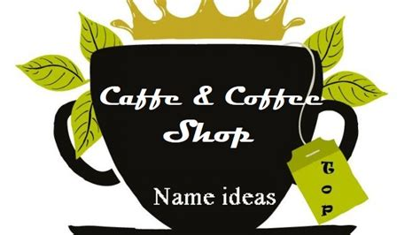 In this blog post, i'll be sharing over 100 coffee shop name ideas. 50 Creative Coffee Shops and Cafe Names - Iphone Blog | Iphone Learner