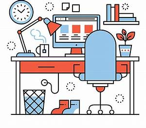 Home Office Clipart 1