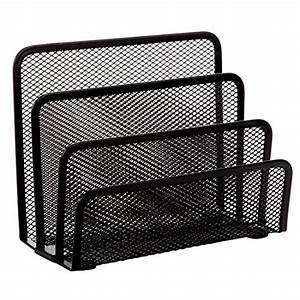 home x black mesh letter holder import it all With mesh letter holder