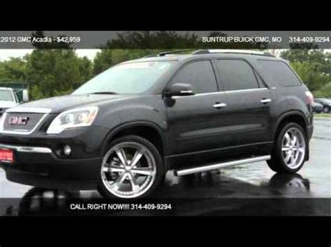 gmc acadia slt   sale  st peters mo