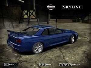 Need, For, Speed, Most, Wanted, Nissan, Skyline, R34, Gt