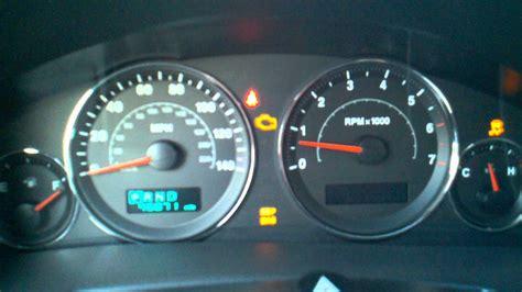 malfunction indicator light 2007 jeep commander html