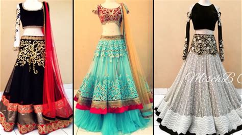 beautiful heavy embroidered lehenga design ideas