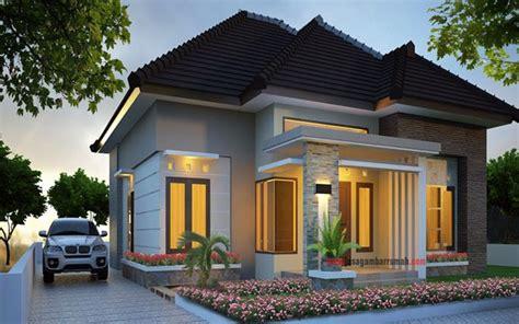 desain rumah minimalis tampak depan terbaru