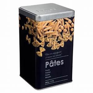 Boite A Pates : bo te pates relief ii 18cm noir ~ Teatrodelosmanantiales.com Idées de Décoration