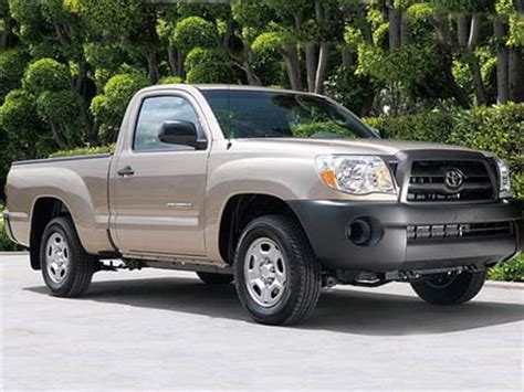 toyota tacoma regular cab pricing ratings
