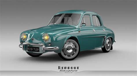 Renault Dauphine by Horhew on DeviantArt