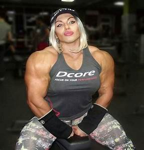 Russia U2019s Biggest Female Bodybuilder Puts Most Men To Shame  But Wait Until You See Her Before Photo