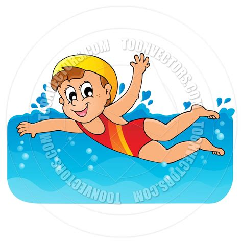Image result for cartoon swimming