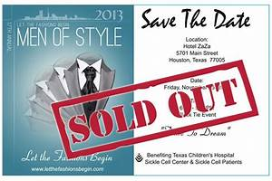 """Save the Date, 17th Annual Let The Fashions Begin """"Men of ..."""