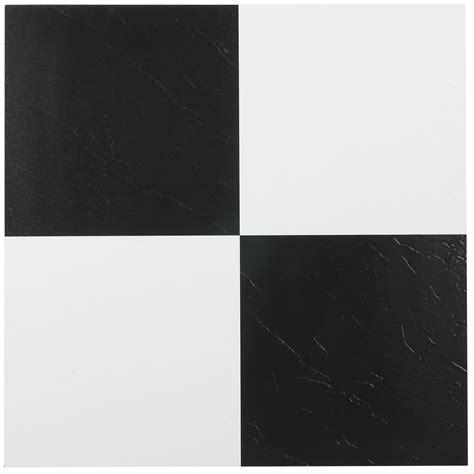 white vinyl floor tile nexus black white 12x12 self adhesive vinyl floor tile 1483