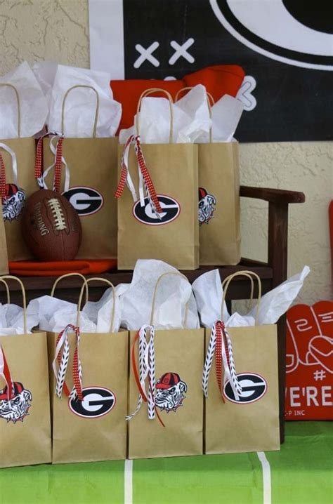 football party favor bags pictures   images