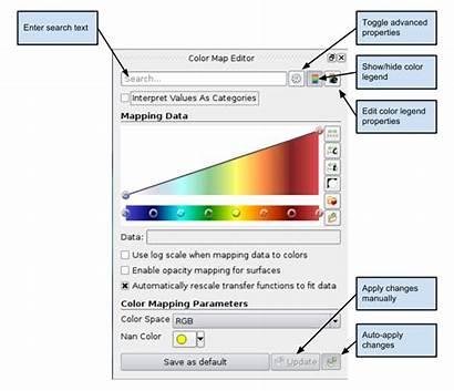 Editor Map Paraview Basics Using Kitware Panel