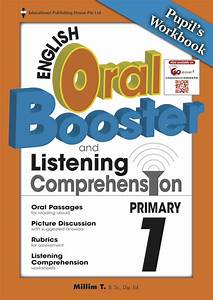 English Oral Booster  U0026 Listening Comprehension Package 1