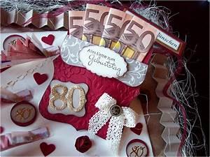 Geldgeschenke Zum 80 Geburtstag : geldgeschenke zum 80 geburtstag basteln angenehm kreativ am deich edle geschenkverpackung zum 80 ~ Frokenaadalensverden.com Haus und Dekorationen
