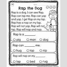 Kindergarten Reading Comprehension Passages  Daughters  Reading Comprehension Worksheets