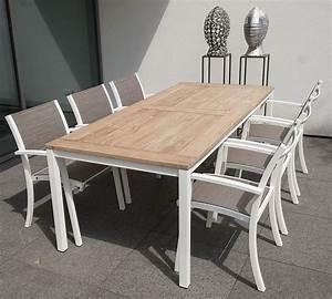 Table Et Chaise De Jardin En Bois : mobilier ext rieur ~ Teatrodelosmanantiales.com Idées de Décoration