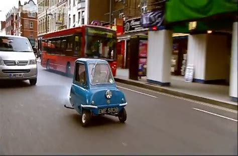 Driving the smallest car in the world. [VIDEO]