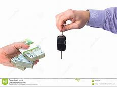 Buying new car for cash stock photo Image of background