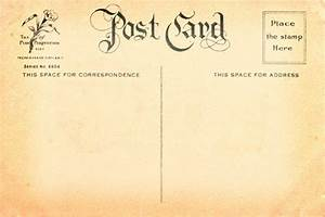 French Postcard Template | To download Vintage Postcard ...