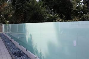 Zaun Aus Glas : milchglas glasprofi24 ~ Yasmunasinghe.com Haus und Dekorationen