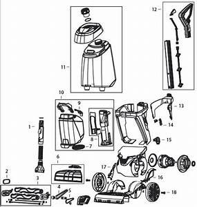 Bissell 2007p Proheat 2x Revolution Parts