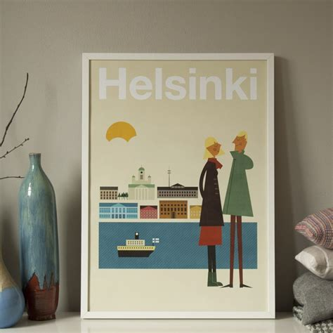 Human Empire Poster by Human Empire Helsinki Poster 50x70cm Selekkt