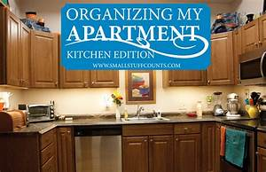 organizing my apartment 6 for the kitchen small