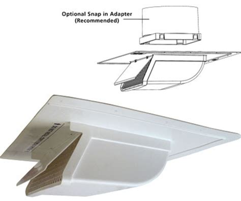 Bathroom Vent Soffit Vs Roof by Soffit Intake Exhaust Vent