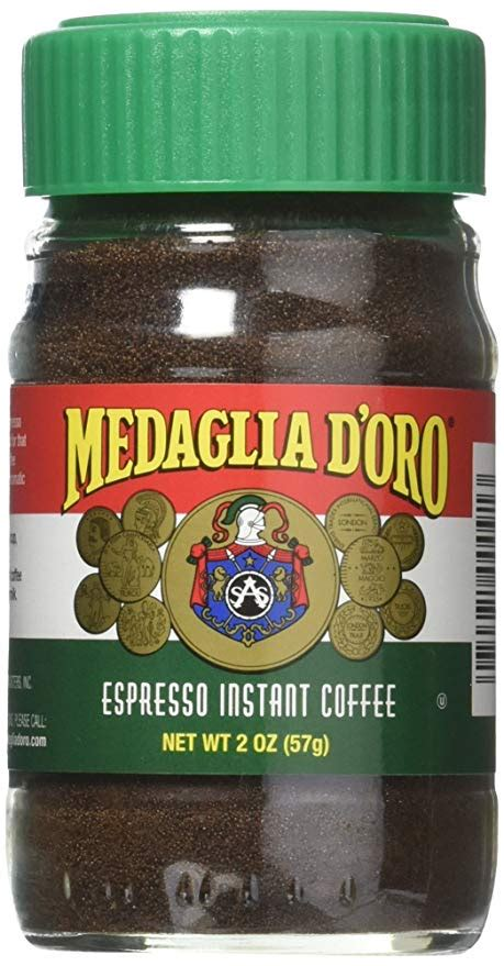 Folgers instant coffee is now coming to my rescue and especially my husband who is really enjoying these on a daily basis, not to mention he's happy when i have my coffee. Amazon.com : Medaglia D'Oro Espresso Instant Coffee, 2 Oz : Espresso Powder : Grocery & Gourmet ...