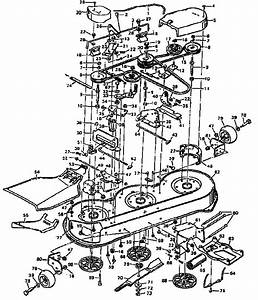 Murray Lawn Mower Deck Parts Diagram
