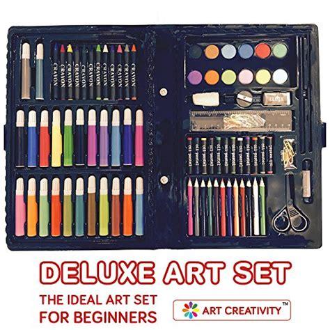 deluxe art set  kids  art creativity ideal beginner