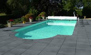 dalle carree pierre reconstituee vendee roc de france With margelle piscine grise anthracite 3 margelle piscine grise margelle droite plate cm gris