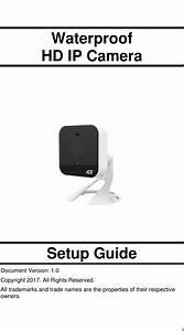 Sercomm Oc835v3 Hd Ip Camera User Manual