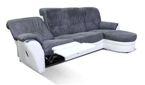 canapé brest canape d 39 angle relax à droite brest blanc gris