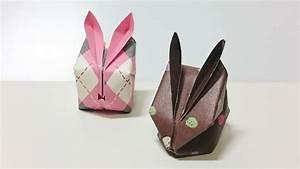 Hase Basteln Einfach : origami zu ostern falten 10 einfache und h bsche ideen mit anleitung ~ Orissabook.com Haus und Dekorationen